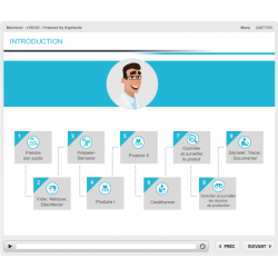 Formation e-learning production pharmaceutique maintenance des équipements