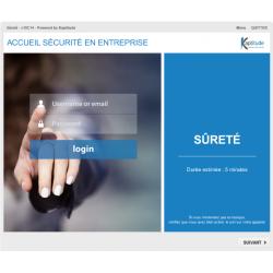 Formation e-learning sécurité dans une entreprise pharmaceutique