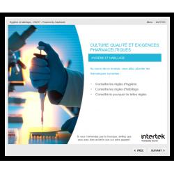 Formation e-learning qualité réglementation et hygiène pharmaceutique